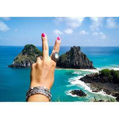 na paz e no amor por esse lugar lindo! ✌️💕 www.milacoelho.com.br  #pazeamor #noronha #peace #free #calmaria #anelismo #pulseirismo #anéis #anel #pulseira #acessórios #floripa #fashion #fashionjewelry #milacoelho #promoção #fretegrátis