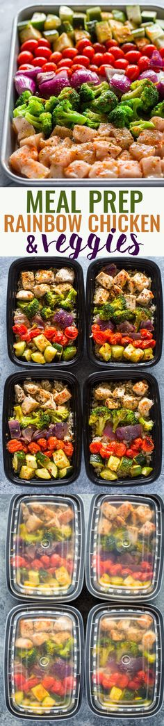 Meal prep - chicken and veggies
