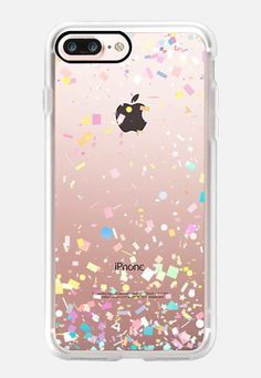 Buy Pastel Confetti Explosion Transparent iPhone 7 Plus by Organic Saturation at CASETiFY. Iphone 6 Plus Case, Christmas Birthday, Graduation Gifts, Tech Accessories, Casetify, Confetti, Ipad, Pastel, Organic