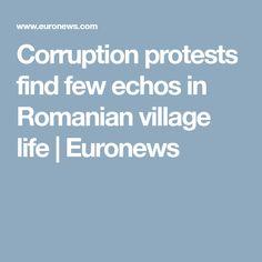 Corruption protests find few echos in Romanian village life | Euronews