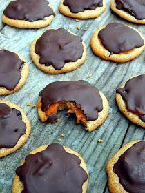 Mézes finomságok...: Pilóta-ihletésű piskóta tallérok... Allrecipes, Cravings, Gluten Free, Sweets, Vegan, Cookies, Health, Food, Halloween
