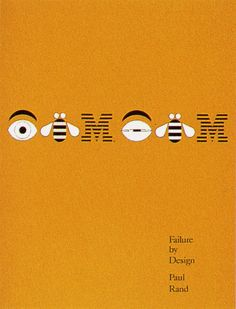 Failure by Design Unpublished cover to an article pamphlet.  Books by Paul Rand | Paul Rand, American Modernist (1914-1996)
