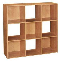ClosetMaid Cubeicals® 9 Cube Organizer Alder $51.99 online at Target.com