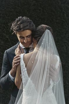 The Theodore pearl chapel wedding veil is a showstopper piece that brings a high fashion feel to a classically styled veil. Headpiece Wedding, Wedding Veils, Wedding Dresses, Lace Wedding, Wedding Mehndi, Wedding Dress With Veil, Wedding Attire, Wedding Bouquets, Wedding Ceremony