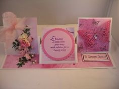 One of my own creations ... Triple Easel Card