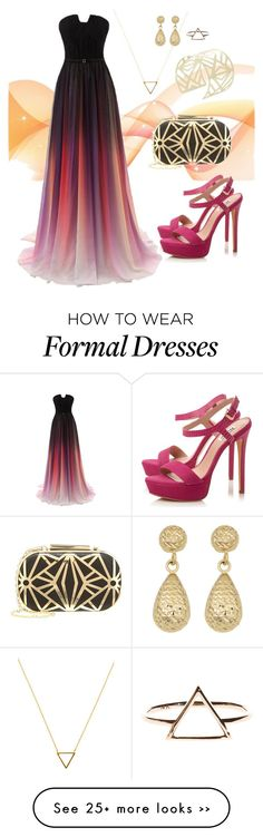 """""""Formal #1"""" by marinaburgin on Polyvore"""