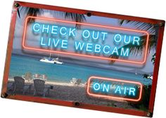 Soggy Dollar Bar webcam. Jost Van Dyke, BVI.