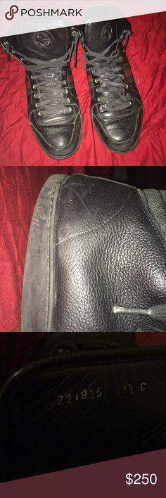 ebf3ea4af13 Gucci Hightops Gucci Hightop Sneakers Size M 11 1 2 Gucci Shoes Sneakers  Gucci Shoes