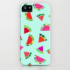 Watermelons Print iPhone & iPod Case