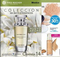 Yves Rocher Campaña 14 2016 Mexico. Catalogo de cosmeticos y perfumes para la venta directa.