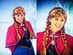 Anna (from Frozen) #cosplay