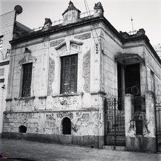 Old mansion at Adolfo Gordo street - Sao Paulo, Brazil