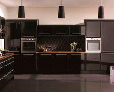Кухни черного цвета | Cuisine.in.ua