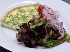 Spinach Quiche Recipe : Robert Irvine : Food Network - FoodNetwork.com