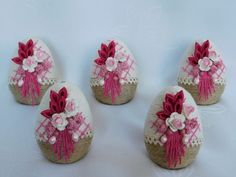 Gift Packaging, Easter Crafts, Quilling, Headbands, Embellishments, Wedding Gifts, Diy And Crafts, Eggs, Valentines