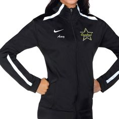 Nike cheer warm ups are the ultimate team look for your squad. Shop Nike cheer warm ups for a look you love from the brand you trust. Cheer Jackets, Team Jackets, Dance Warm Up, Dance It Out, Swag Outfits For Girls, Dance Outfits, Cheer Warm Ups, Cheerleading Equipment, Dance Gear