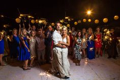 10 Ways to Make Your Destination Beach Wedding Unforgettable for You and Your Guests Kate Aspen, Beach Ceremony, Beautiful Couple, Sparklers, Wedding Shoot, Destination Wedding, Romantic, Couples, Photography