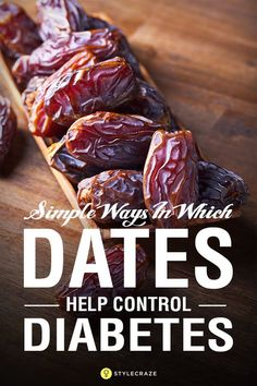 Dates For Diabetes – Is It Safe? Dates are healthy & can be a great alternative for sweets & sugars. But, can diabetics eat dates? Read this post on dates for diabetes to find your answers Diabetic Tips, Diabetic Snacks, Healthy Snacks For Diabetics, Healthy Eating, Diabetic Smoothie Recipes, Diabetic Bread, Easy Diabetic Meals, Diabetic Deserts, Diabetic Food List