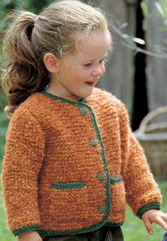 Veste Kids Knitting Patterns, Knitting For Kids, Crochet Patterns, Sweaters, Charlotte, Alice, Couture, Fashion, Craft