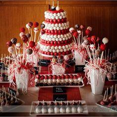 Cake pop wedding by Susan Oliver