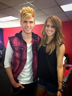 Angie and Colton Dixon! Cutest couple ever! GET TOGETHER GUYS!