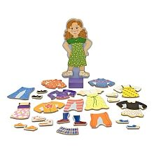 "Melissa & Doug - Costumes magnétiques Maggie Leigh - Melissa & Doug - Toys""R""Us"