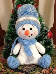 Crochet Patterns Snowman Crochet Pattern – CK Crafts - Claire C. Crochet Patterns Snowman Crochet Pattern – CK Crafts - Always aspired to discove. Crochet Snowman, Christmas Crochet Patterns, Holiday Crochet, Crochet Toys Patterns, Amigurumi Patterns, Stuffed Toys Patterns, Blanket Patterns, Christmas Knitting, Pdf Patterns