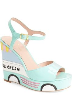ed42afcdfaa0 kate spade new york  dotty  wedge sandal (Women) available at  Nordstrom