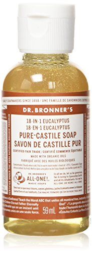 Dr Bronners Organic Castile Liquid Soap Liquid Eucalyptus 2 Ounce *** Check out this great product.