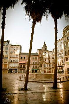 Plaza de la Constitución, Málaga.