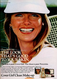 Cheryl Tiegs Makeup Ads, Clean Makeup, Cheryl Tiegs, Cover Girl Makeup, Look Girl, You Are Awesome, Covergirl, Your Skin, Feel Good