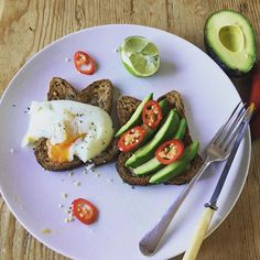 Amazing powerhouse lunch (or breakfast) avocado, poached egg and chilli on gluten free toast. Delicious! Visit www.yourhealthyself.co.uk for more inspiration. #smmjourney2016