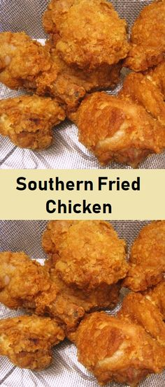 This is a basic Southern fried chicken recipe and it is easy and delicious southern friedchicken chickenrecipe Fried Chicken Batter, Best Fried Chicken Recipe, Country Fried Chicken, Easy Chicken Recipes, Turkey Recipes, Country Cooking, Southern Recipes, Vegan, Soul Food