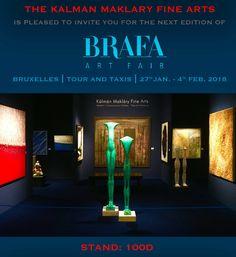 BRAFA 2018 stand: 100D