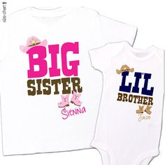 Hey, I found this really awesome Etsy listing at https://www.etsy.com/listing/179213065/big-sister-little-brother-matching-shirt