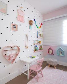 Baby Bedroom, Baby Boy Rooms, Girls Bedroom, Room Wall Decor, Baby Room Decor, Big Girl Bedrooms, Girl Rooms, Daughters Room, Kids Room Design