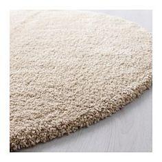 IKEA - ÅDUM, Tæppe, lang luv, 195 cm, , Den tætte og tykke luv dæmper lyde og er blød at gå på.Tæppet er fremstillet af syntetiske fibre og er slidstærkt, pletafvisende og nemt at vedligeholde.
