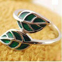 Woodland Fantasy Leaf Ring Size 7
