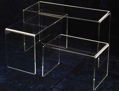 display da vetrina in plexiglass - alzata