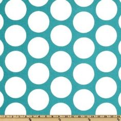 Amazon.com: 54'' Wide Premier Prints Dandi Dot True Turquoise Fabric By The Yard: Arts, Crafts & Sewing