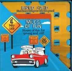 Miles of Fun Travel Bingo Set - Toys and Games