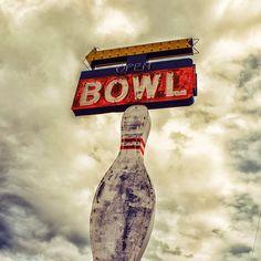 #VintageSigns | #bowling