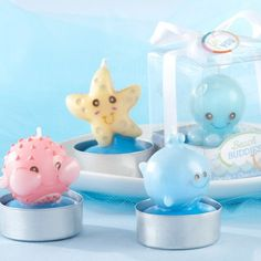 Bubble Sea Creature Candles - I want a set of these, but think they are expensive, so keep your EYES on the look out for cheaper ones! :)
