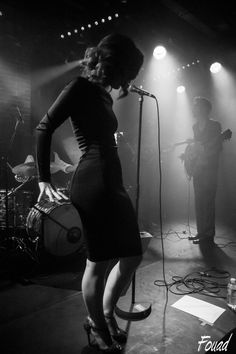 Photograph Cherry boop and the sound makers live in PARIS 2014 by fouadoulicious on 500px