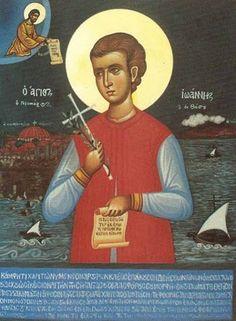 MYSTAGOGY: Holy New Martyr John the Tailor of Thasos (+ 1652)