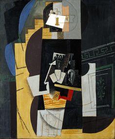 Pablo Picasso: Card Player (1913-14, Paris)