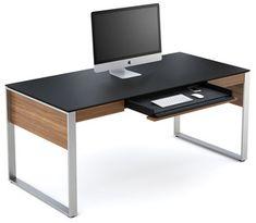 BDI Sequel Executive Desk 6021   2Modern Furniture & Lighting