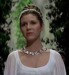 Princess Leia was what I wanted to be when I grew up.