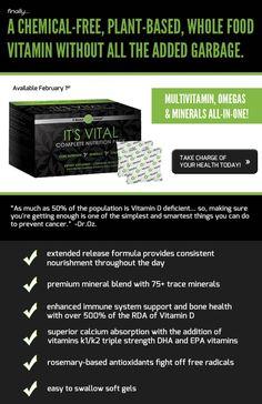 It Works Global It's Vital! Complete Nutrition Pack! #itworks #vitamin www.gettingskinnywithjen.myitworks.com/