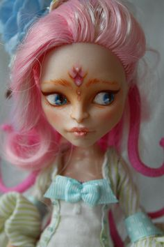 "Viperine Gorgon (Monster High ""camera, fright, action!"") - custom doll OOAK"
